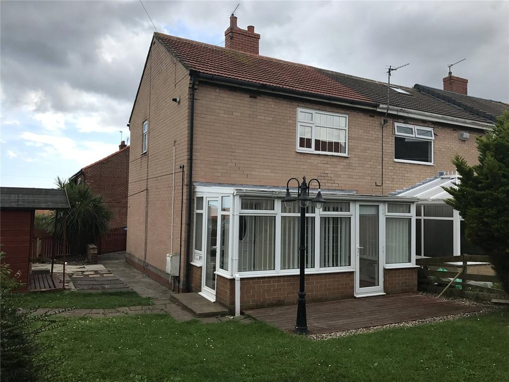 2 Bedrooms Semi Detached House for sale in St Ives Place, Murton, Co. Durham, SR7