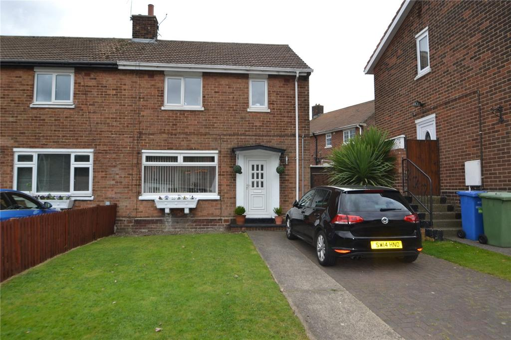 2 Bedrooms Semi Detached House for sale in Acre Rigg Road, Peterlee, Co.Durham, SR8