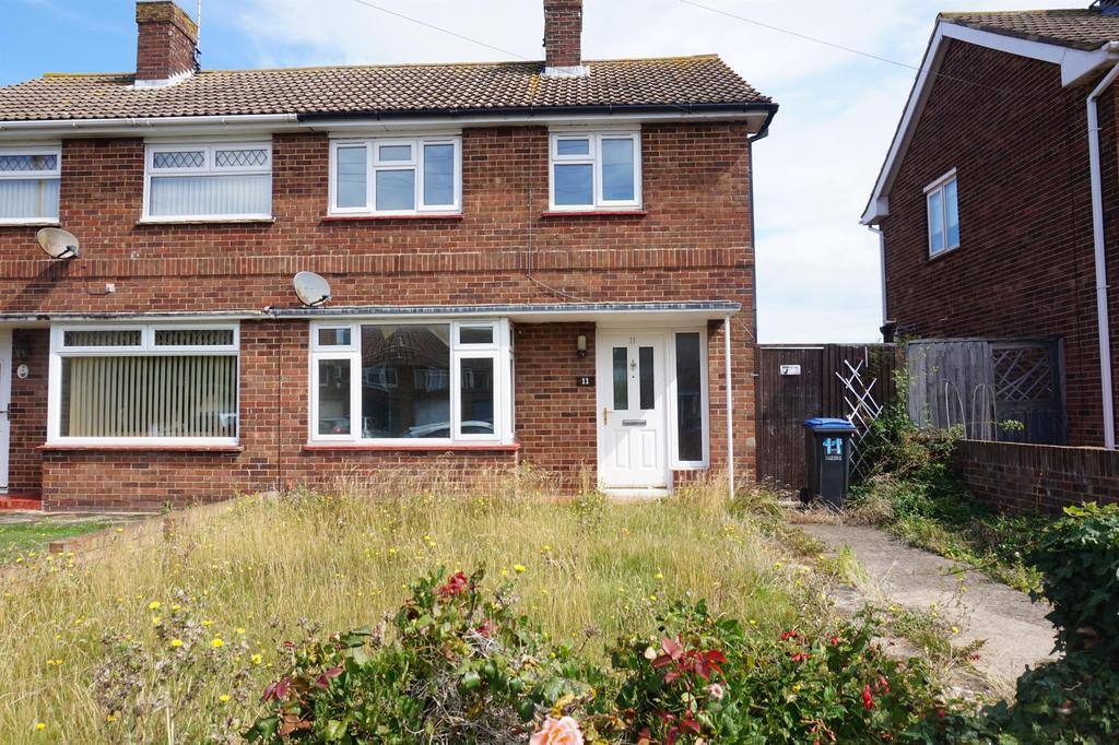 2 Bedrooms Semi Detached House for sale in Lister Road, Margate, Kent, CT9 4AE