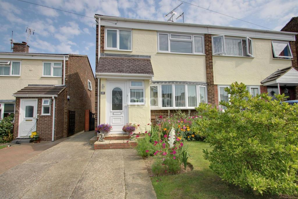 3 Bedrooms Semi Detached House for sale in Capel Road, Rayne, Braintree