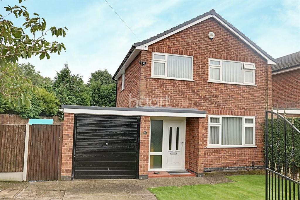 3 Bedrooms Detached House for sale in Hillcrest Drive, Hucknall
