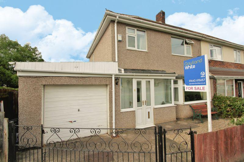 3 Bedrooms Semi Detached House for sale in Greens Beck Road, Hartburn, Stockton, TS18 5AP