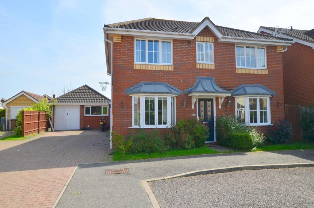 4 Bedrooms Detached House for sale in St. Agnes Way, Kesgrave IP5 1JZ