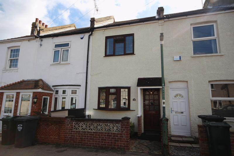 2 Bedrooms Terraced House for sale in Waldeck Road, Dartford.