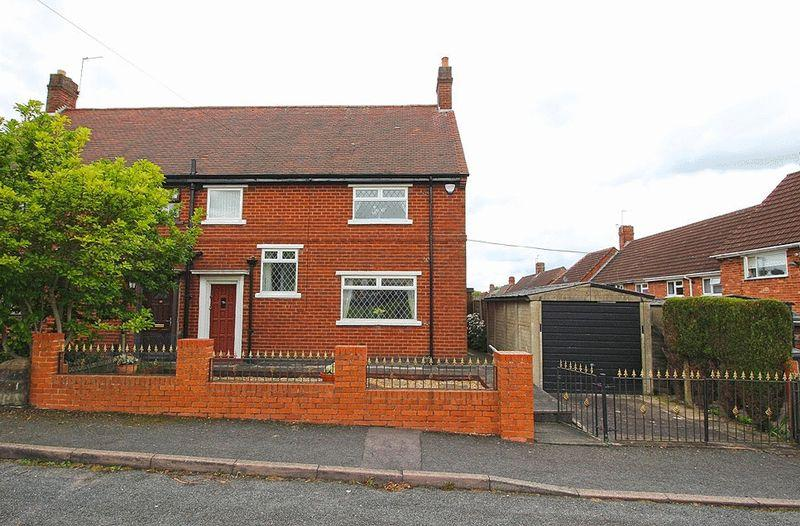 3 Bedrooms Semi Detached House for sale in Stretton Place, Woodcross