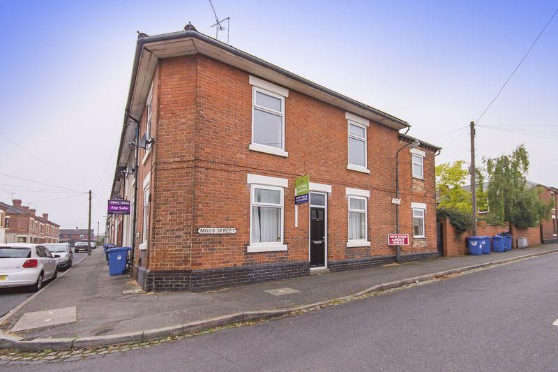 2 Bedrooms End Of Terrace House for sale in Moss Street, Derby