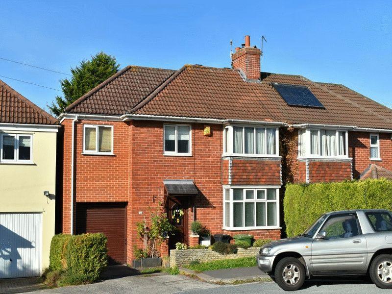 4 Bedrooms Semi Detached House for sale in Branscombe Road, Stoke Bishop