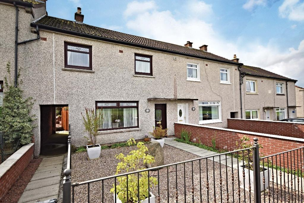 3 Bedrooms Terraced House for sale in Craigens Road, Cumnock, East Ayrshire, KA18 3AX