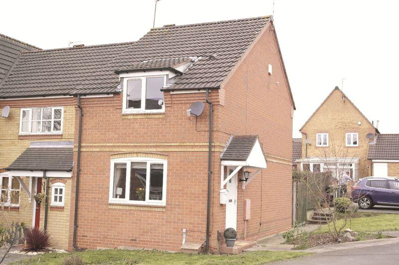 2 Bedrooms Terraced House for sale in Heawood Way, Thorpe Astley