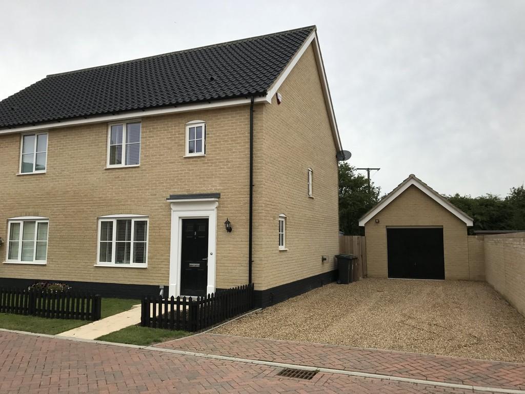 3 Bedrooms Semi Detached House for sale in Chapel Farm Close, Gislingham