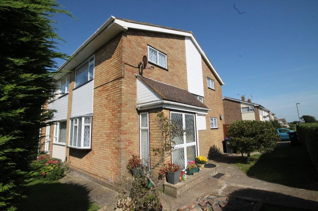 3 Bedrooms Semi Detached House for sale in Freshbrook Road, Lancing, BN15