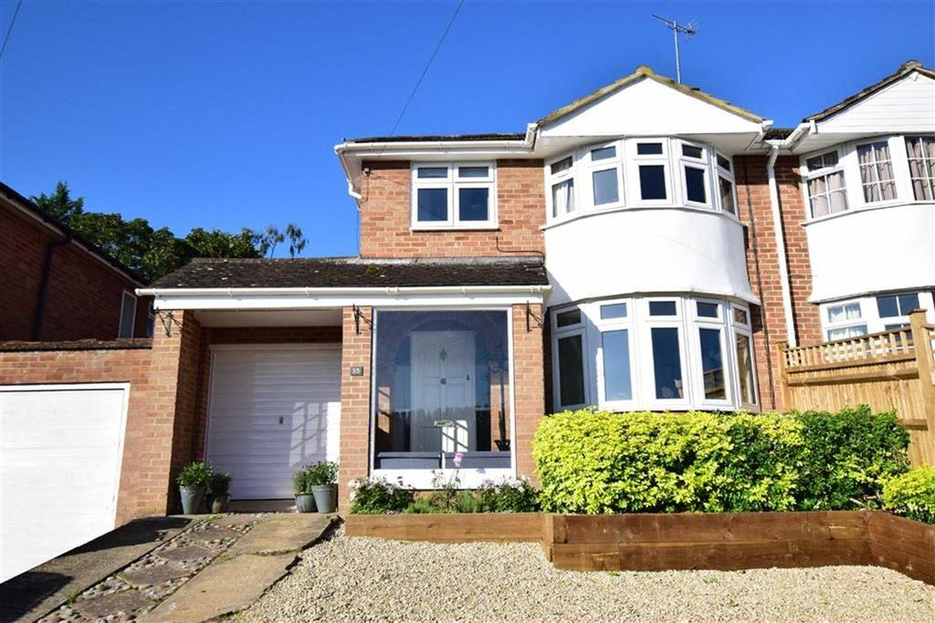3 Bedrooms Semi Detached House for sale in Wrenfield Drive, Caversham, Reading