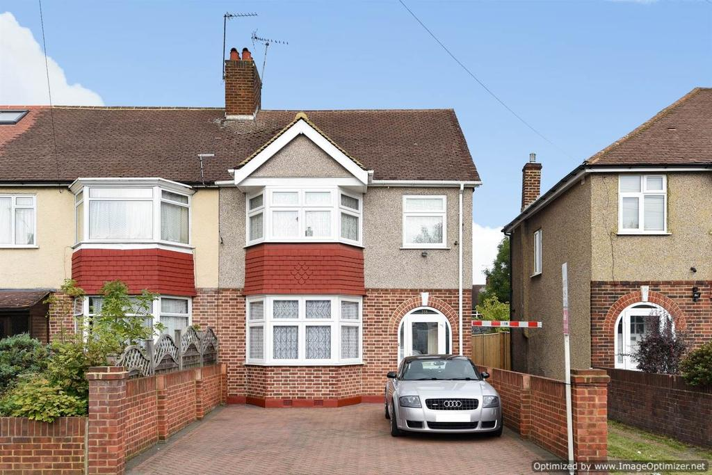 4 Bedrooms End Of Terrace House for sale in Hillcross Avenue, Morden SM4