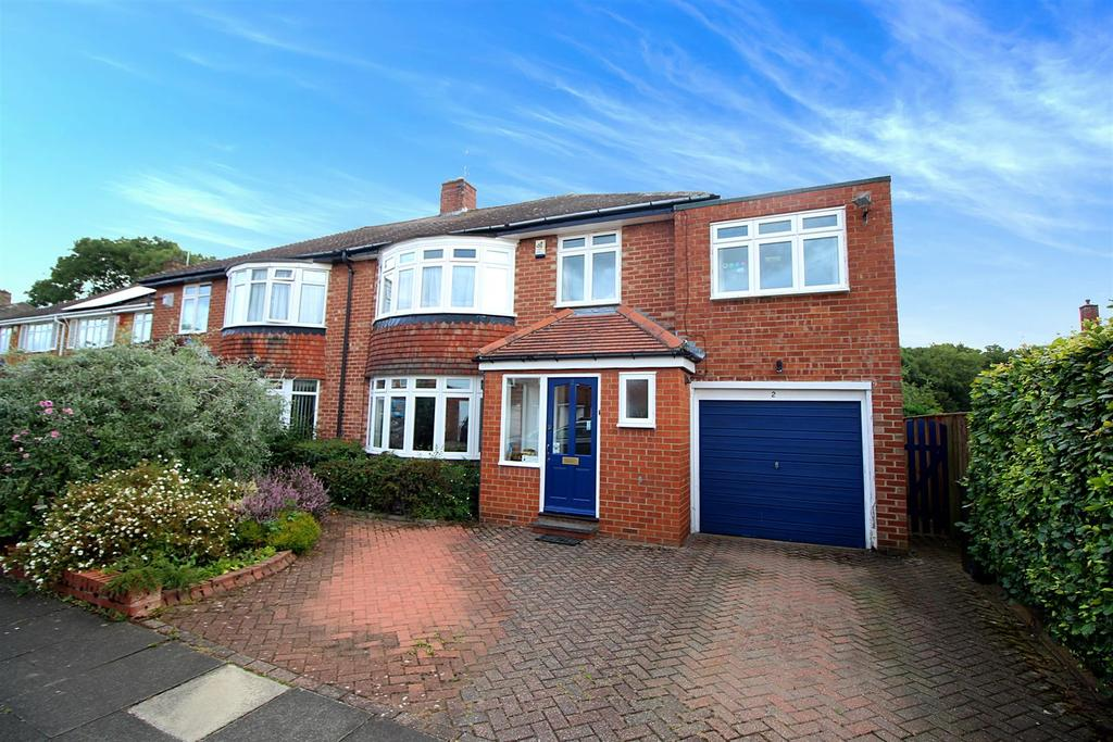5 Bedrooms Semi Detached House for rent in Belmount Avenue, Gosforth, Newcastle