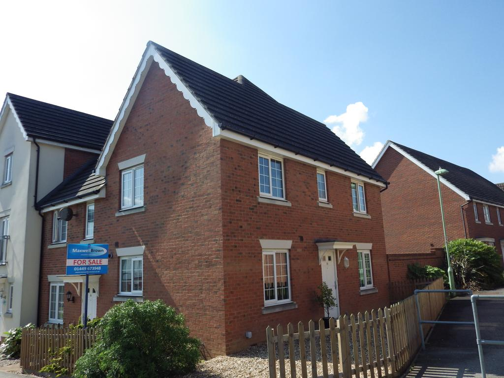 3 Bedrooms Terraced House for sale in Phoenix Way, Stowmarket