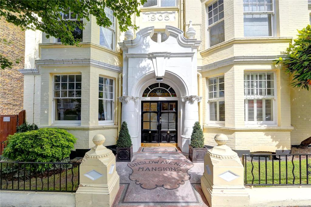 2 Bedrooms Flat for sale in Onslow Avenue Mansions, Onslow Avenue, TW10