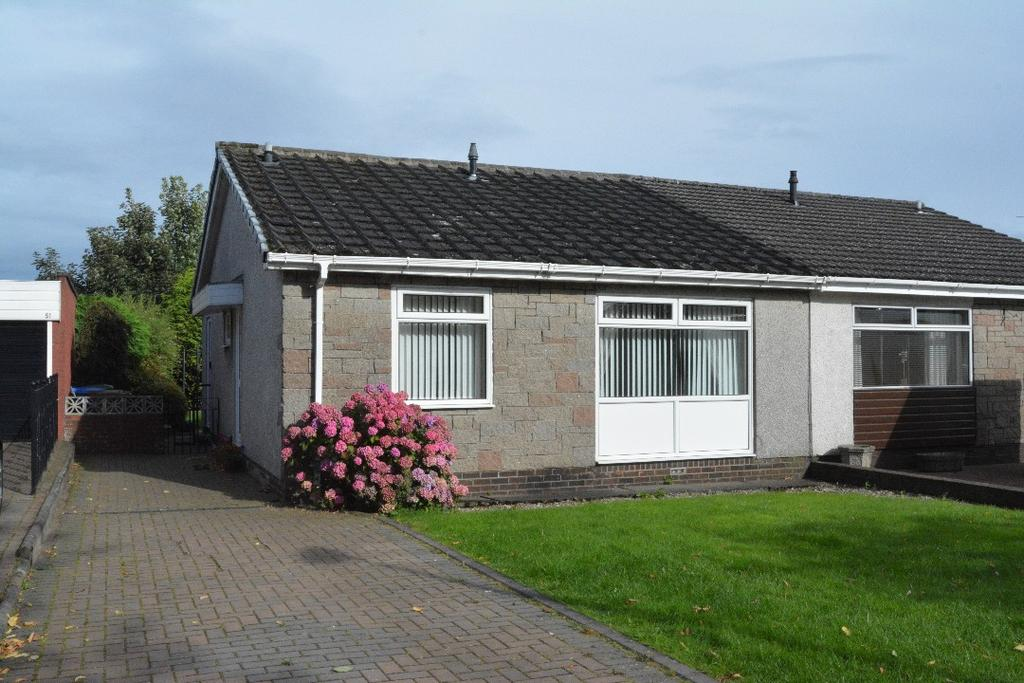 2 Bedrooms Bungalow for sale in Doune Crescent, Stenhousemuir, Falkirk, FK5 4TR