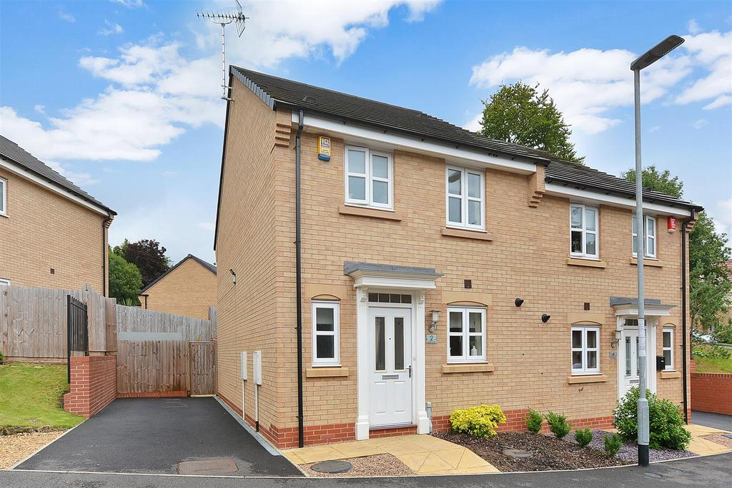 3 Bedrooms Semi Detached House for sale in Regal Drive, Mansfield