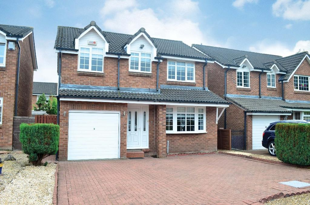 4 Bedrooms Detached House for sale in Sycamore Place, Motherwell, North Lanarkshire, ML1 5TN