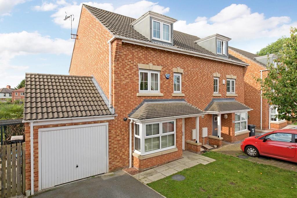 4 Bedrooms Semi Detached House for sale in Guinea Croft, Knaresborough