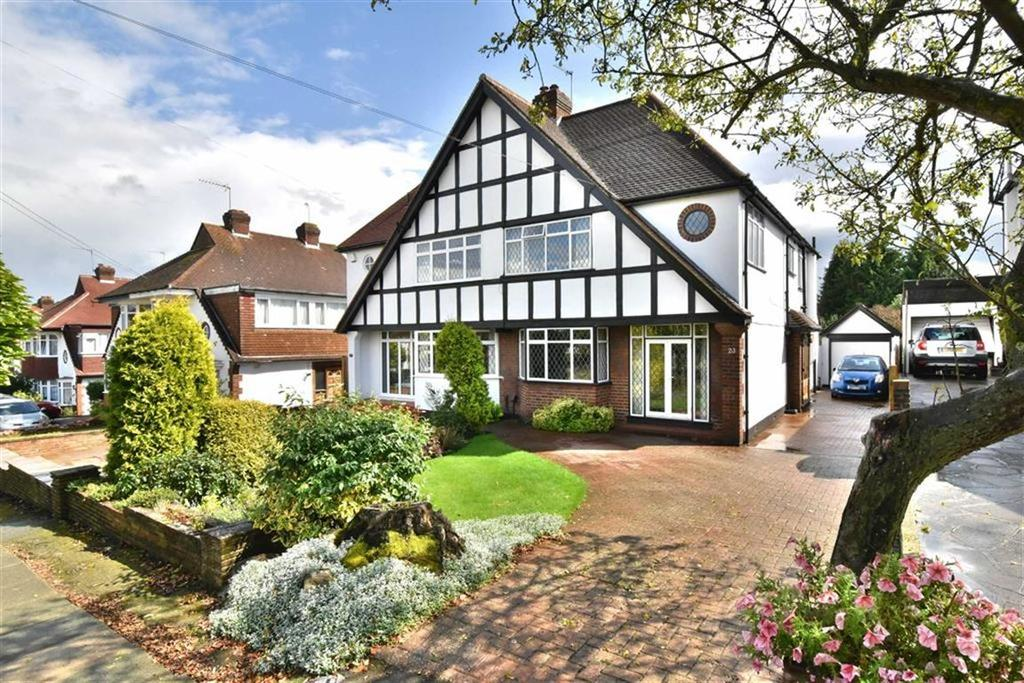 5 Bedrooms Semi Detached House for sale in South Walk, West Wickham, Kent