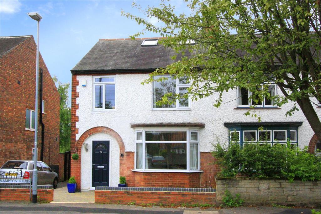 4 Bedrooms House for sale in Hampton Road, West Bridgford, Nottingham, NG2