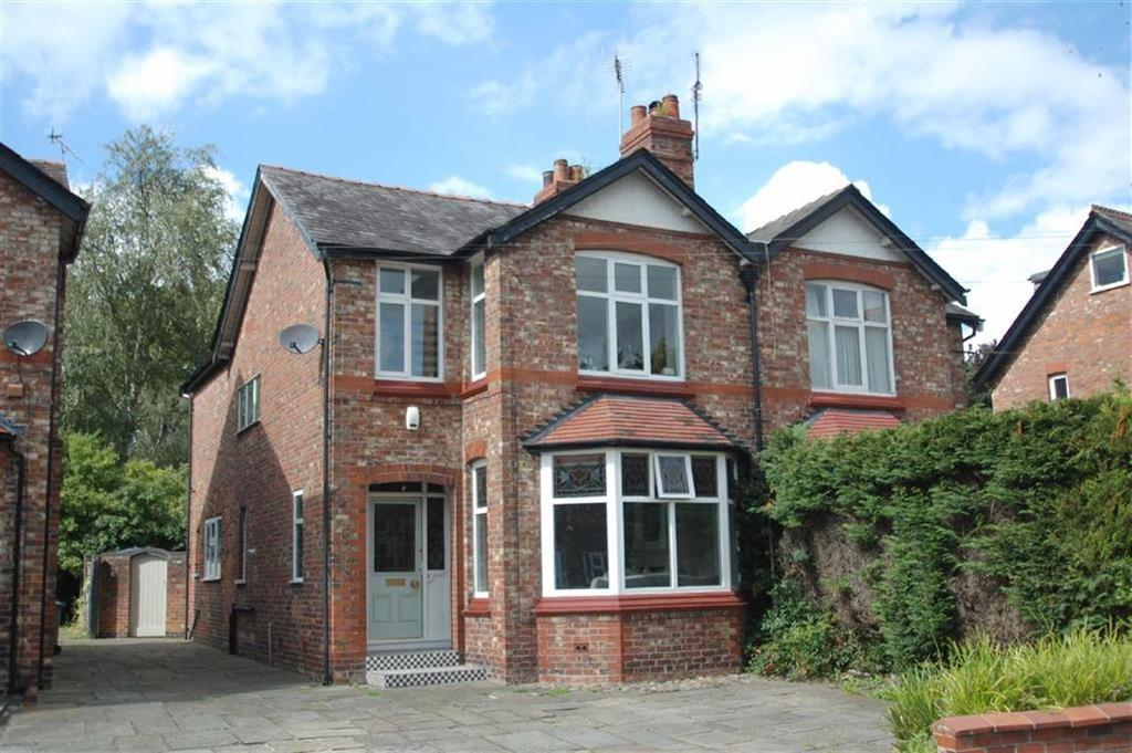 3 Bedrooms Semi Detached House for sale in Kennerleys Lane, Wilmslow, Cheshire