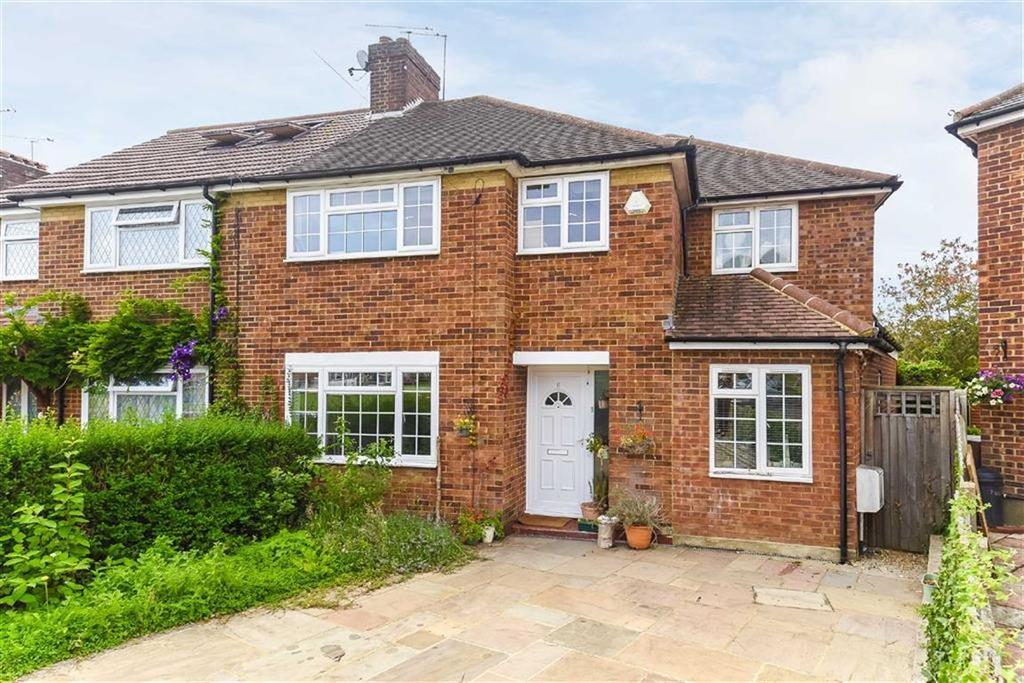 4 Bedrooms Semi Detached House for sale in Elstow Close, Eastcote, Middlesex