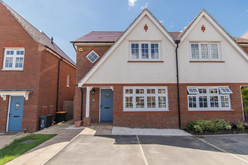 3 Bedrooms Semi Detached House for sale in Monmouth Caslte Drive, Newport