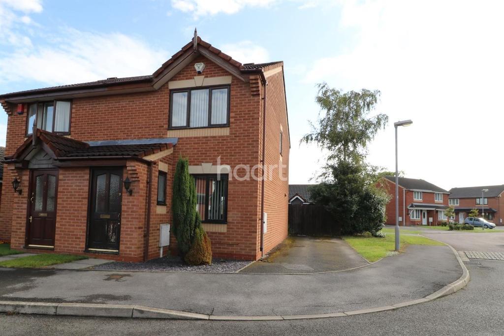 2 Bedrooms Semi Detached House for sale in Clipsham Close, Balderton