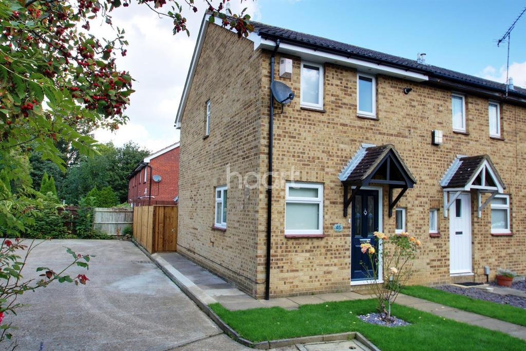 2 Bedrooms End Of Terrace House for sale in Weybridge Close, Lords Wood