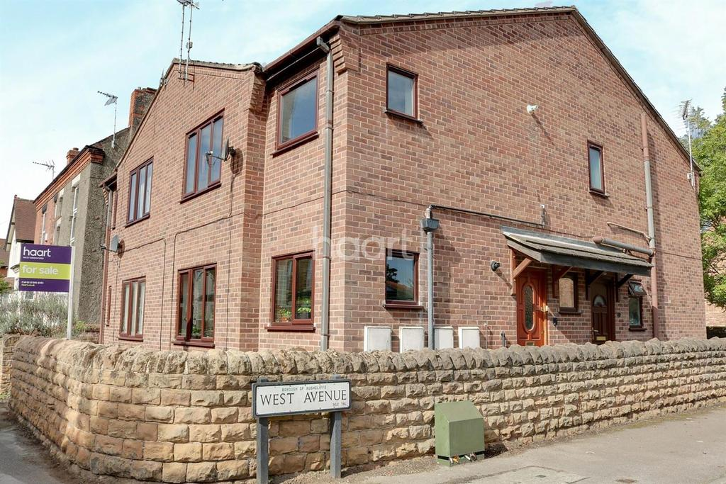 2 Bedrooms Flat for sale in West Avenue, West Bridgford, Nottinghamshire.