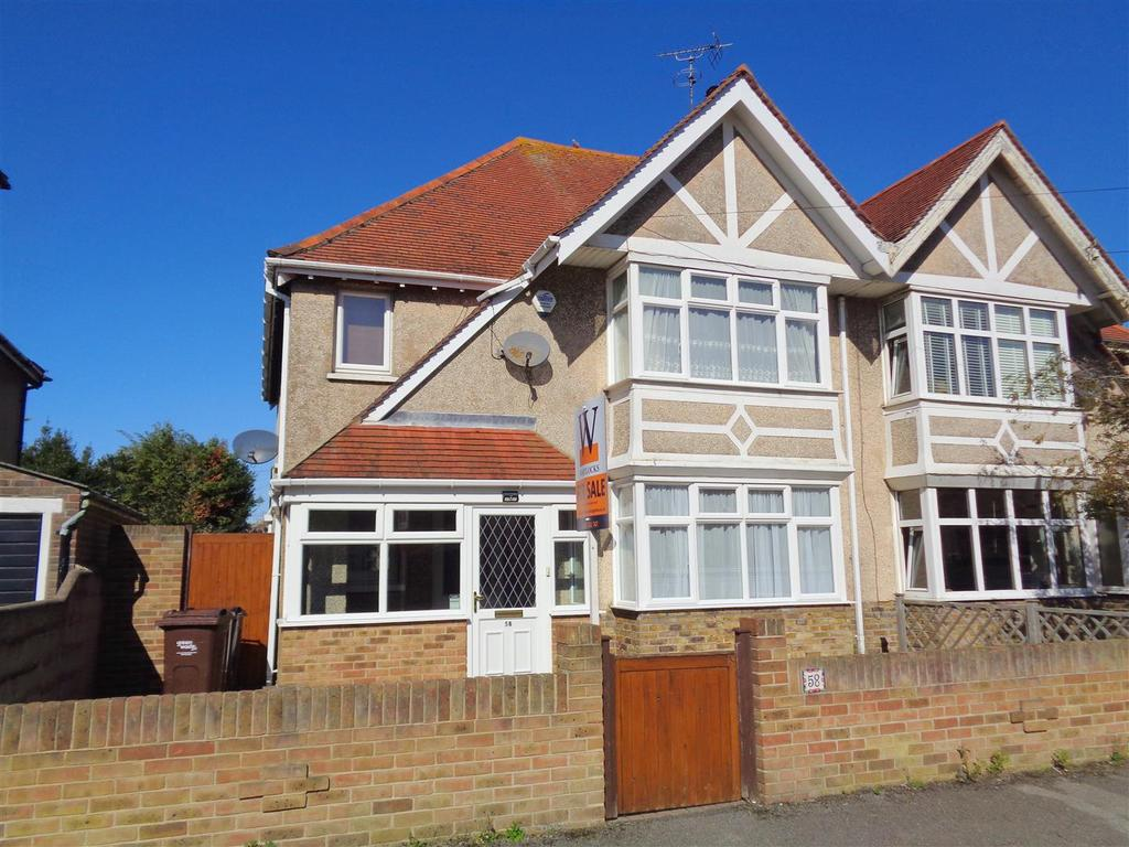 3 Bedrooms Semi Detached House for sale in Hillsboro Road, Bognor Regis