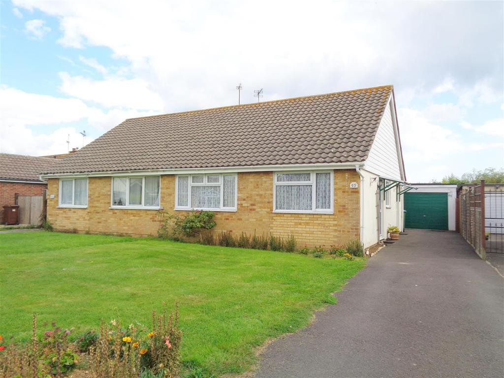 2 Bedrooms Semi Detached Bungalow for sale in Harbour View Road, Pagham
