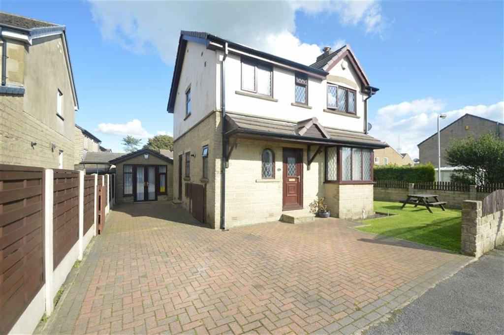 4 Bedrooms Detached House for sale in Micklemoss Drive, Queensbury BD13, Queensbury