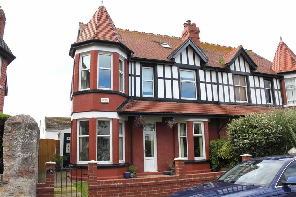 5 Bedrooms Semi Detached House for sale in Queens Road, Craig Y Don, Llandudno, Conwy
