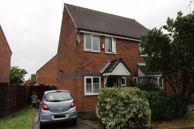 2 Bedrooms Semi Detached House for sale in Ryder Road, Kirby Frith, Leicester, LE3