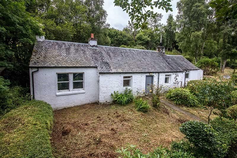 1 Bedroom Unique Property for sale in Halfton Cottage, Luss, G83