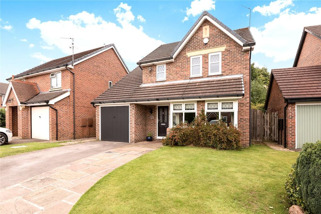 3 Bedrooms Detached House for sale in Glenside Drive, Wilmslow, Cheshire, SK9