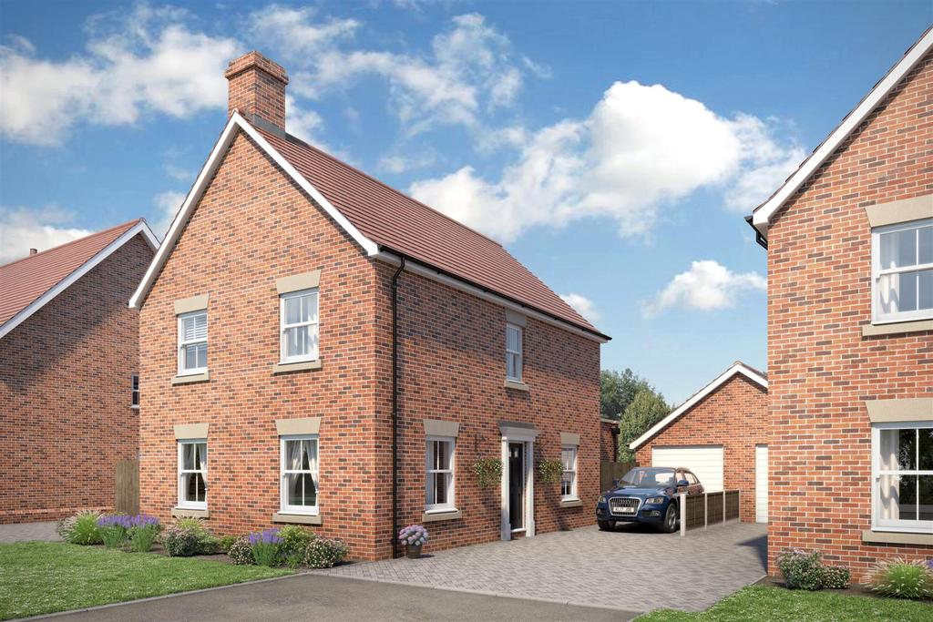 4 Bedrooms Detached House for sale in Aldrich Close, Kirby Cross