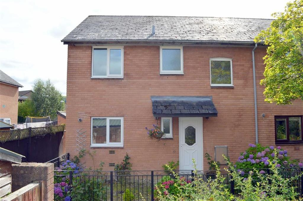 3 Bedrooms End Of Terrace House for sale in 176, Lon Dolafon, Vaynor, Newtown, Powys, SY16
