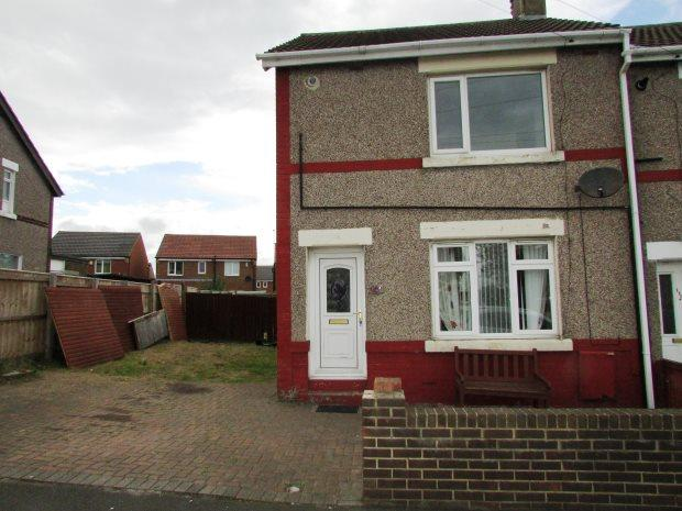 2 Bedrooms Semi Detached House for sale in PARKSIDE CRESCENT, SEAHAM, SEAHAM DISTRICT