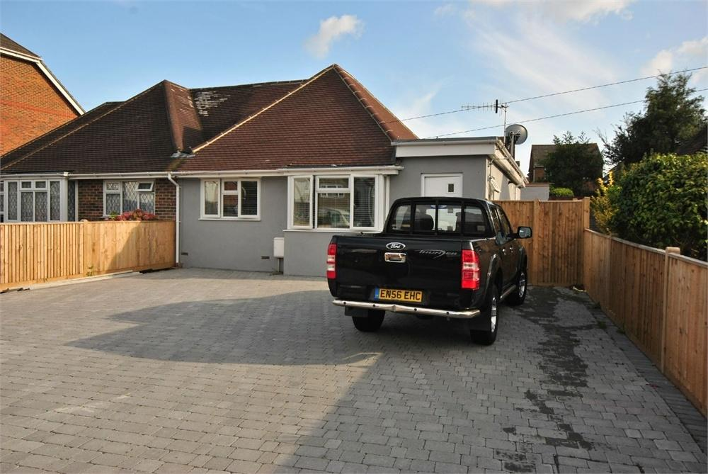 2 Bedrooms Semi Detached Bungalow for sale in Turkey Road, BEXHILL-ON-SEA, East Sussex