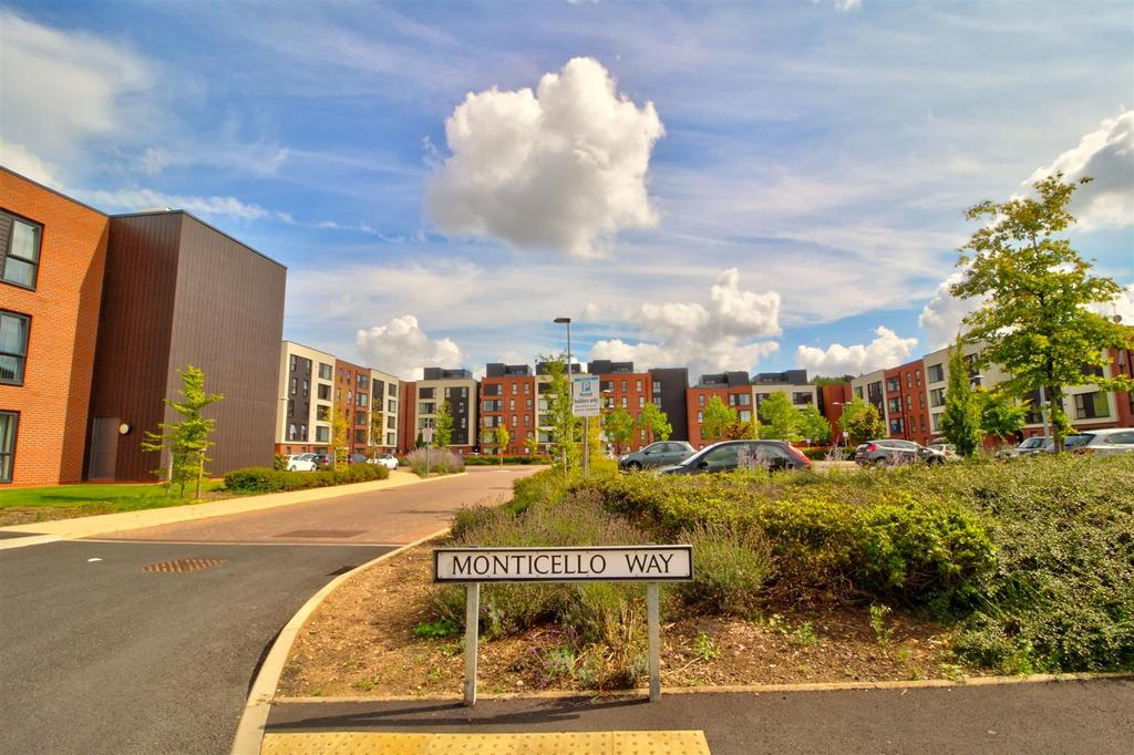 3 Bedrooms Apartment Flat for sale in Monticello Way, Banner Brook Park, Coventry