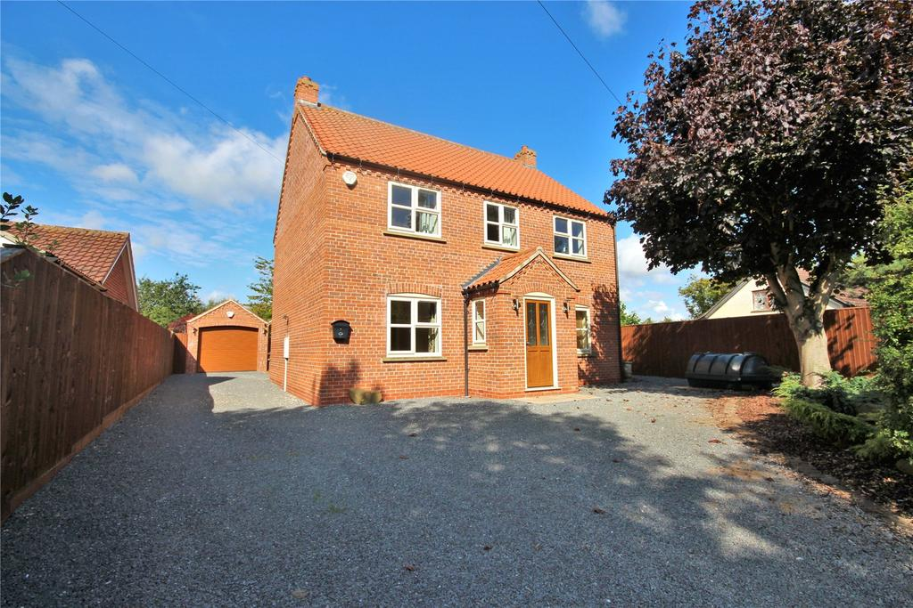 4 Bedrooms Detached House for sale in Back Lane, Wood Enderby, PE22