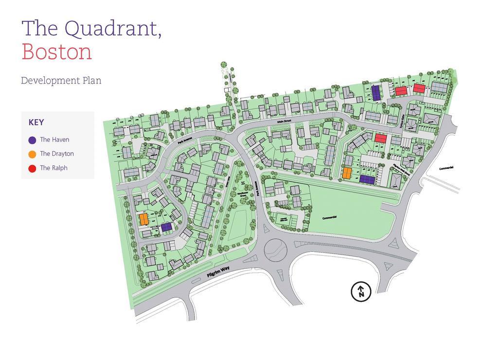 3 Bedrooms Semi Detached House for sale in The Quadrant, Boston, PE21