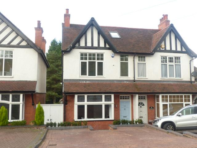 4 Bedrooms Semi Detached House for sale in Lichfield Road,Four Oaks,Sutton Coldfield