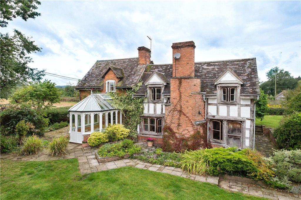 4 Bedrooms Detached House for sale in Lyonshall, Kington, HR5