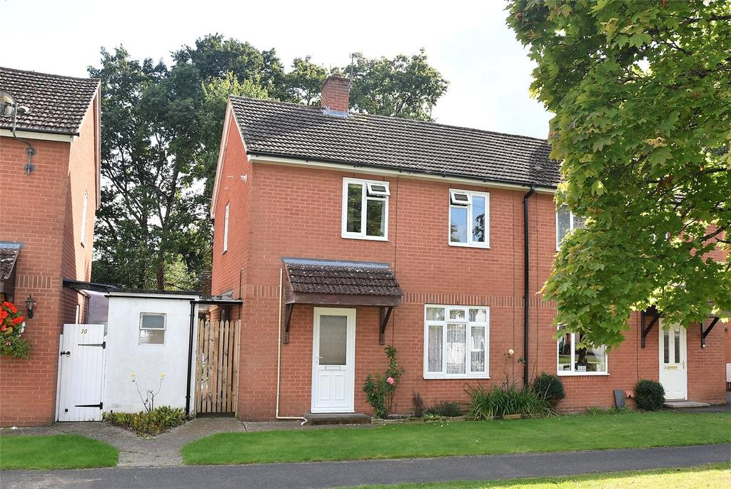 2 Bedrooms Semi Detached House for sale in Birch Road, Tadley, Hampshire, RG26