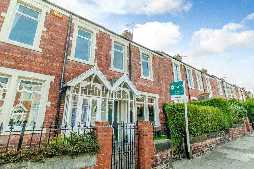 5 Bedrooms Terraced House for sale in Windsor Terrace, South Gosforth, Newcastle Upon Tyne, Tyne And Wear